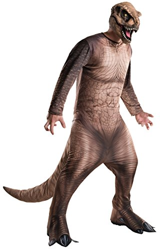 Rubie's Men's Jurassic World T-Rex Costume, Multi, Standard