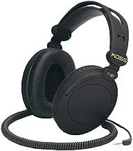 Koss 154336 R-80 Over Ear Headphones, Black