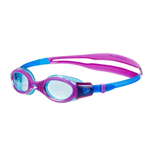 Speedo Schwimmbrille Futura Biofuse, Schwimmbrille für Damen, Einheitsgröße