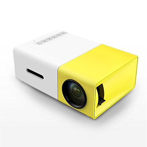 xianan Mini proiettore portatile LED Proiettore Supporto PC Laptop USB/SD/AV/ingresso HDMI per video/Film/gioco/Home Cinema Video Proiettore