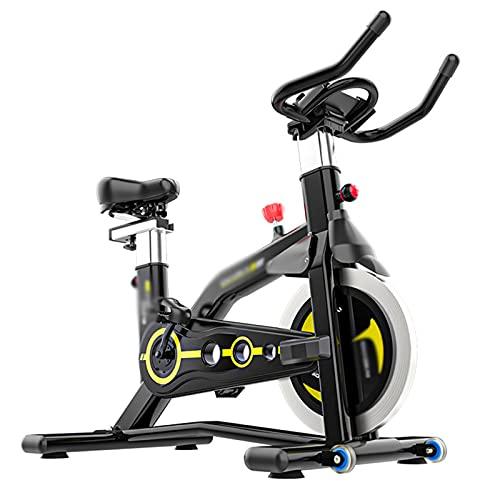 CJDM Bicicleta giratoria, Bicicleta de Ejercicios para el hogar, Equipo de Fitness silencioso para Interiores, Equipo de Fitness con Bicicleta de Pedal, tamaño: 106 * 60 * 110-20cm