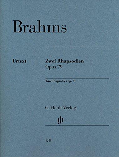Zwei Rhapsodien op. 79 für Klavier zu zwei Händen: Revidierte Ausgabe: Revidierte Ausgabe von HN 119