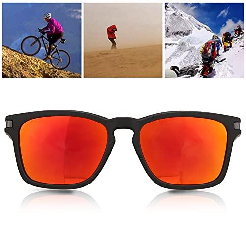 Gafas de Ciclismo, Gafas de protección Anti-UV Resistentes con bisagras para Conducir