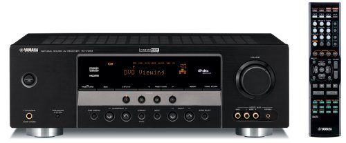 Yamaha RX V363BL 500 Watt 5.1 Channel Home Theater Receiver (OLD VERSION) (Discontinued by Manufacturer)