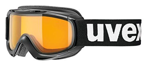 uvex Unisex Jugend, slider LGL Skibrille, black, one size