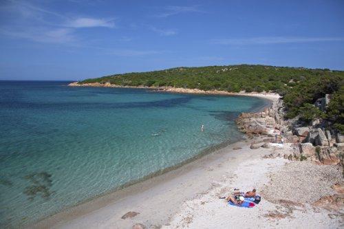 Beach of Cala Portese on Caprera Island, La Maddalena Archipelago, Province of Olbia-Tempio, Sardinia, Italy Giclee Art Print Poster or Canvas