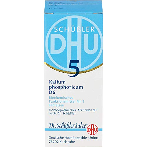 DHU Schüßler-Salz Nr. 5 Kalium phosphoricum D6 Tabletten, 80 St. Tabletten