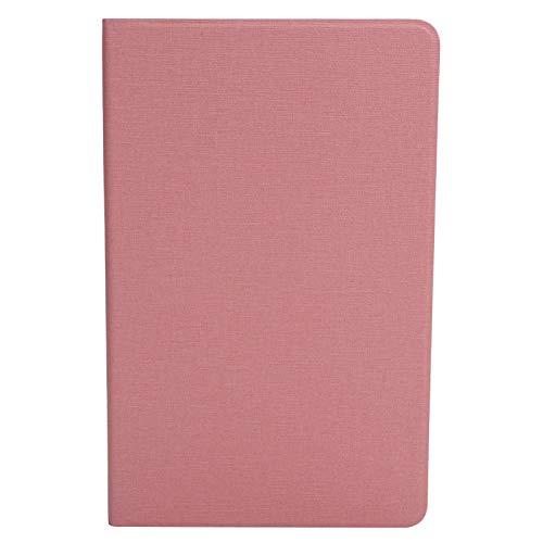 Dilwe Carcasa de PU TPU con Protección contra Caída para Tabletas para iPlay40, Funda Protectora Universal de Estilo Comercial para Tablets, Estuche Antideslizante para Tabletas, Accesorios(Rosa)