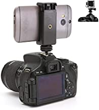 DSLR Hot Shoe Mount for Mobile Phone & Gopro Hero Cameras
