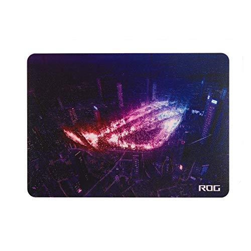 ASUS ROG Strix Slice Gaming Mausoad (rutschfest, für optische und Laser-Mäuse, glatte Oberfläche, 35 x 25 cm) ROG Design