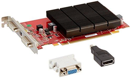 VisionTek ATI Radeon HD 5450 Grafikkarte (512 MB DDR3, PCI-Express, 2 x DVI, 1 x Mini Display Port)