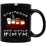 Amirna Stay Home and Watch How I Met Your Mother Movie Robin #Scherbatsky Barney #Stinson Mug Coffee or Tea