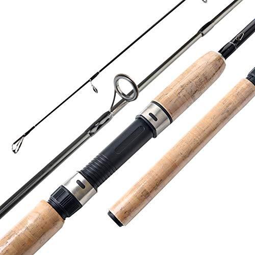 NO LOGO FJJ-YUGAN, 1.8M Feeder Spinning Rod caña de Pescar