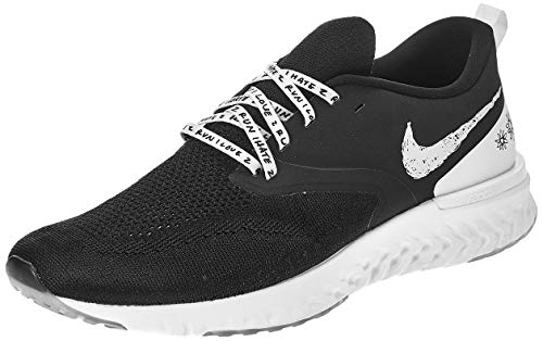 Nike Odyssey React 2 Flyknit AS Mens Shoes Size 13, Color: Black/Sail -  AT9979010