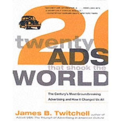 Twenty Ads That Shook the World (Paperback) - Common