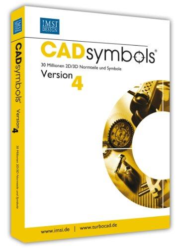 CAD symbols Version 4 30 Millionen 2D/3D Normteile und Symbole für PC