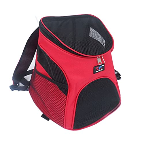 DYB Mochila Portador de Mascotas (Rojo)