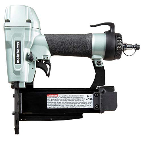 Metabo HPT Pin Nailer Kit | 23 Gauge | 1/2-Inch To 2-Inch Pin Nails | Built-In Silencer | 5 Year Warranty | NP50A