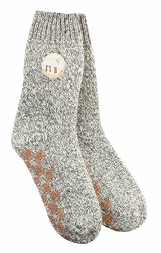 Adelheid Damen Unschuldslamm Stricksocken Socken, Grau (Mausgrau 940), 35/38 (Herstellergröße: S)