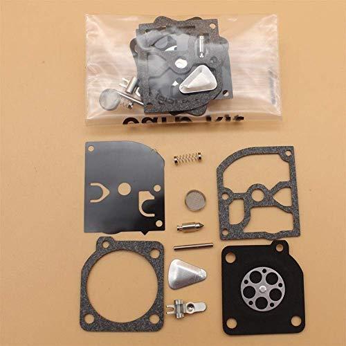 2 unids/lote Kit de reparación de carburador apto para HUSQVARNA 40 45 49 55 H55 H51 55240245 240R 245R Partner Jonsered Trimmer piezas de motosierra