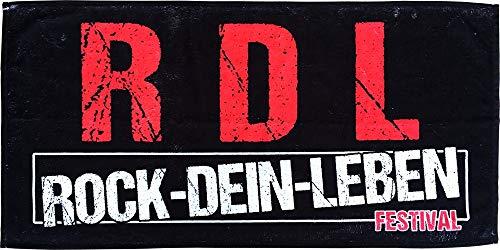 Rock je leven – R-D-L handdoek 50 x 100 cm