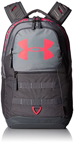 Under Armour Unisex Big Logo 5.0 - 1300296, Steel/Marathon Red