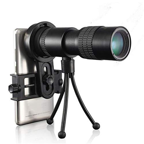 Telescopio monocular de zoom de 4 K con lente de prisma Bak4 para viajes, actividades al aire libre, deportes, maravilloso regalo (color 4K 10 30 x 30 mmB)