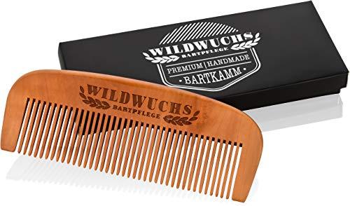 Wildwuchs baardkam, van echt hout, voor een natuurlijke en gezonde baardgroei.