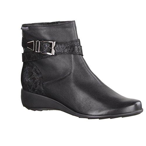 Mephisto - Boots Cuir Stacy - Noir - 42-8