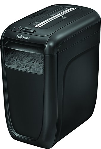 Fellowes Powershred 60Cs 10-Sheet Cross-Cut Paper and Credit Card Shredder with...