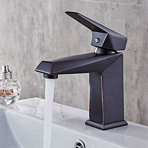 GUOCAO Baño Lavabo del baño del grifo del lavabo de mezclador del grifo de agua fría y caliente del lavabo grifo grifo de baño Bar Cocina