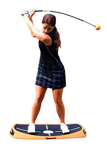 Orange Whip Orange Peel Balance Trainer Aid for Improved Golf Balance
