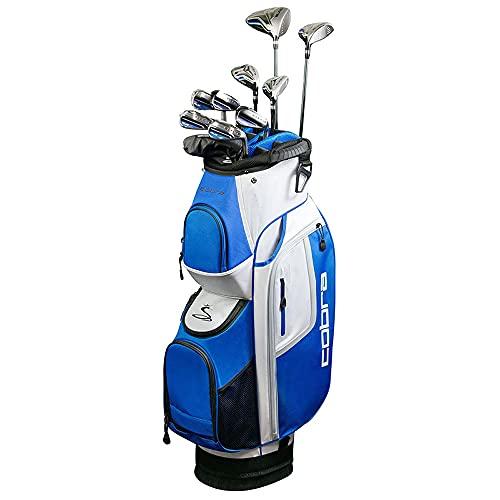 Cobra Mens Fly XL Golf Package Set - Steel Shafts (Right, Steel, Stiff)