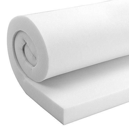 TENDAGGIMANIA Espuma de alta densidad 30 para sofá, placa de 200 x 100 cm, espuma de poliuretano expandido, varios grosores (8 cm de grosor)