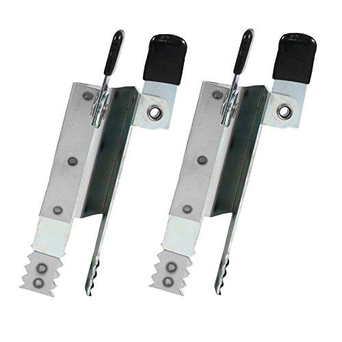 NOBILY *** 2 x Rolladen Einbruchsicherung - Rollladen Einbruchschutz am Fenster - SIRAL Rollladen Klemmsicherung verzinkt - Paar