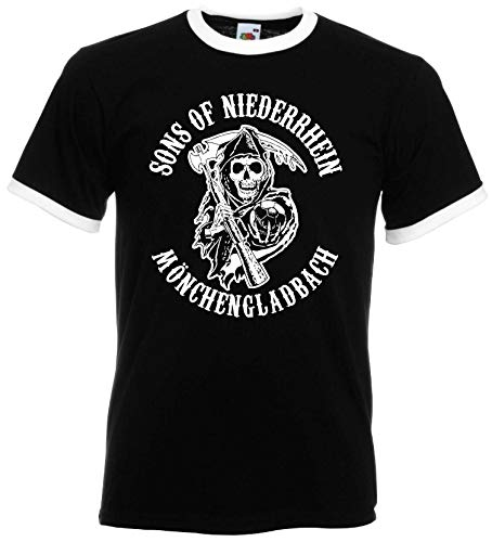 Sons of Niederrhein Mönchengladbach Herren Retro Ultras
