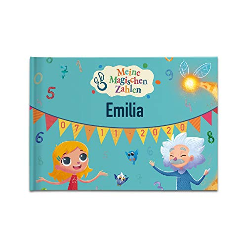 MY MAGIC STORY - Personalisiertes Kinderbuch Meine magischen Zahlen