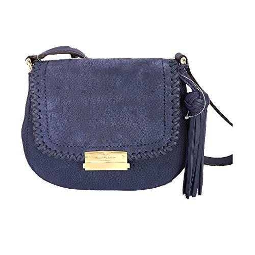 Kate Spade Suede Leather Adalise Crossbody Bag, Diver Blue