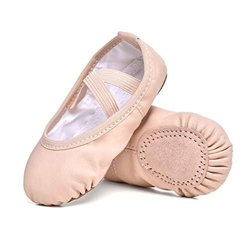 STELLE Girls Ballet Practice Shoes, Yoga Shoes for Dancing(BP, 3ML)