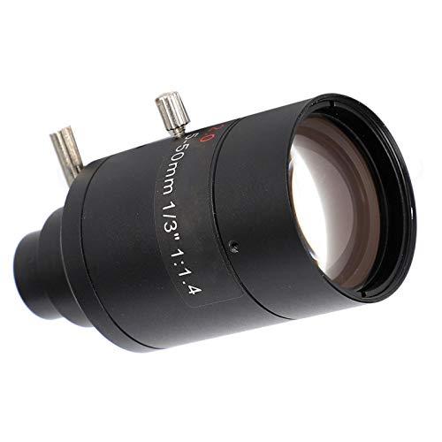KUIDAMOS Manuelles Objektiv mit geringer Verzerrung, Anpassung an die meisten Überwachungskameras mit hohem Zoom