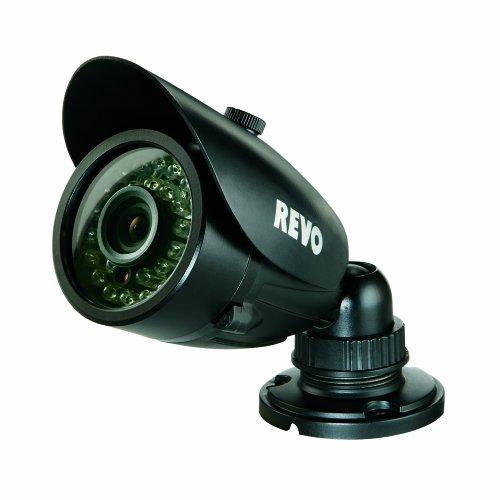 REVO America RCBS30-3 REVO America RCBS30-3 Indoor/Outdoor Bullet Surveillance Camera with Night Vision (Black)