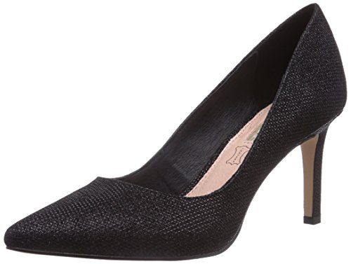 Buffalo Shoes Damen H733-C002A-4 P1855A Pumps, Schwarz (BLACK 01), 37 EU
