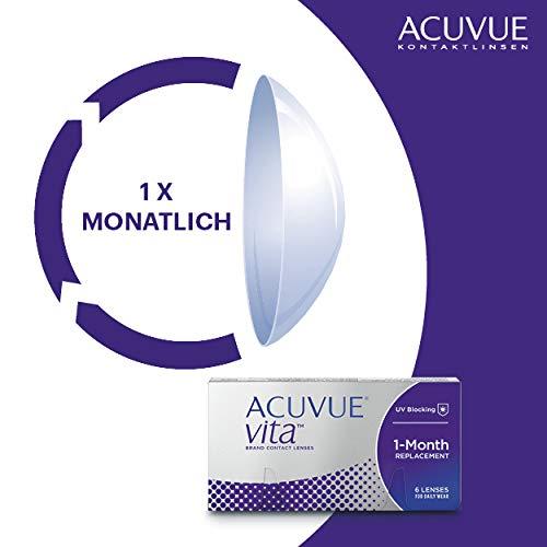 Acuvue Kontaktlinsen Vita Monatslinsen weich, 6 Stück / BC 8.4 mm / DIA 14.0 mm / -3.5 Dioptrien - 3