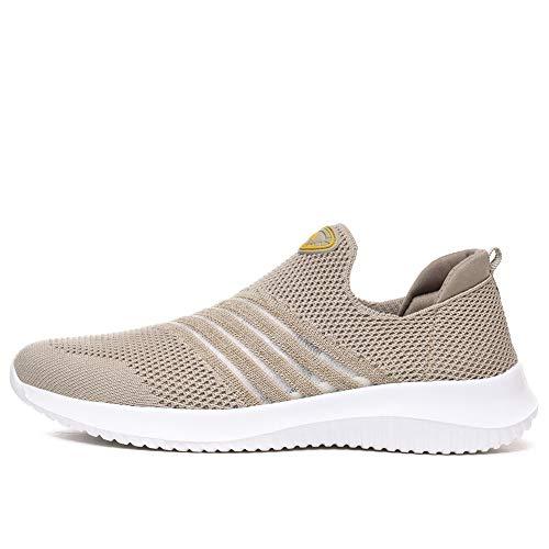 Lichtgewicht Sportschoenen Voor Dames Ademend Mesh Jogging Fitnessschoenen Casual Hardlopen Wandelen Loafers Zachte Slip Op Platte Sneakers