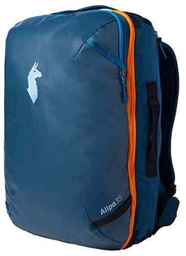 Cotopaxi Allpa Travel Pack Reiserucksack, Unisex-Erwachsene, Indigo 35 L + Taillengürtel, 35L