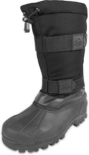 normani Canadian Winterstiefel Kälteschutzstiefel Ice-Boots bis -40 Grad Farbe Schwarz Größe 42/8