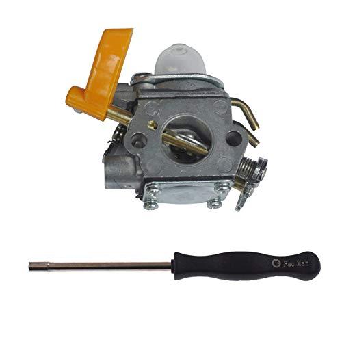 JRL Carburador de repuesto para ZAMA C1U-H60E compatible con Ryobi Homelite 26 30 cc cortador de bujes