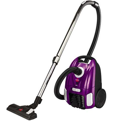 Bissell Canister Upright Vacuum Cleaner Lightweight & Powerful Suction with Telescoping Wand, Multi-Surface Cleaning Nozzle, Extra Long Power Cord with Automatic Cord Rewind