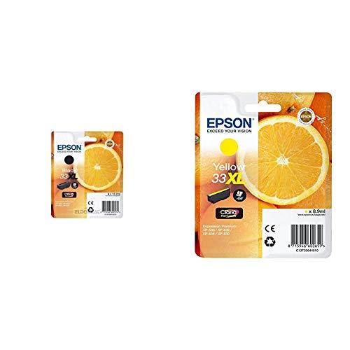 Epson C13T33514022 - 33XL - Cartucho de Tinta + Claria Premium 33 - Cartucho de Tinta Amarillo XL 8,9 ml válido