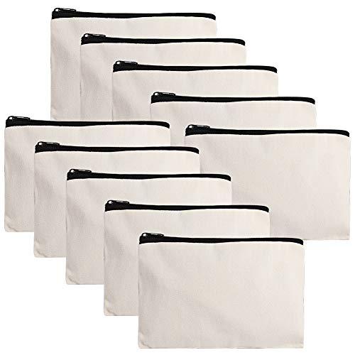 Weiye - Bolsas de lona para manualidades, 10 unidades,...
